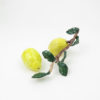 RE_Lemon with leaves_ 2017, glazed paperclay, 24x11x10cm03