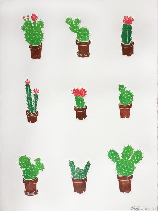 cactuses_2016_linocut_76x56cm_ed-8_kr3600
