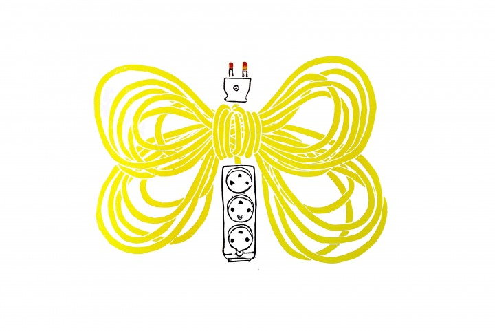 Butterfly Extention (Yellow) 1/13 Lenolium 2014 38x56cm Kr. 2.500,-